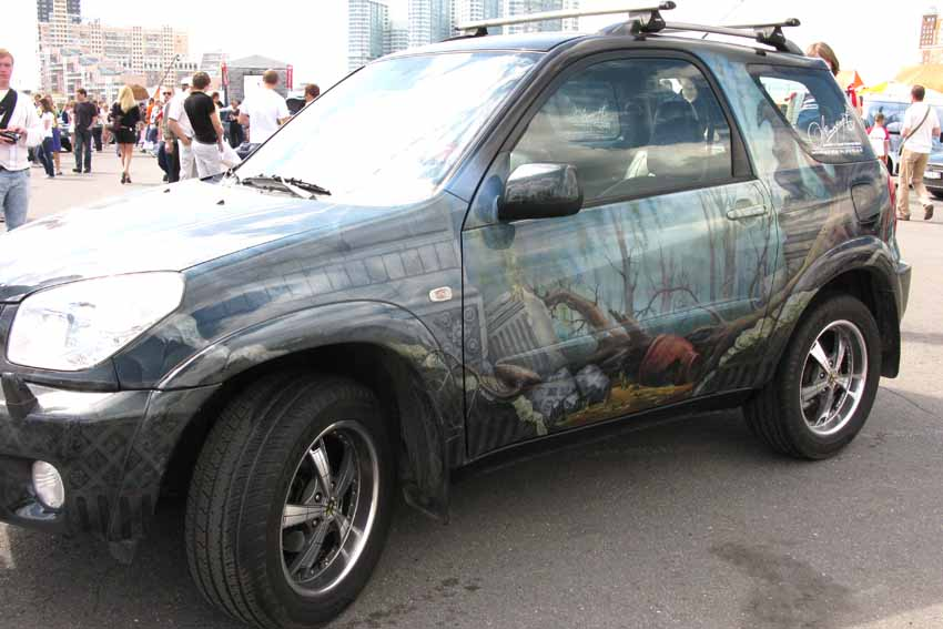 аэрография на авто москва фото и цены